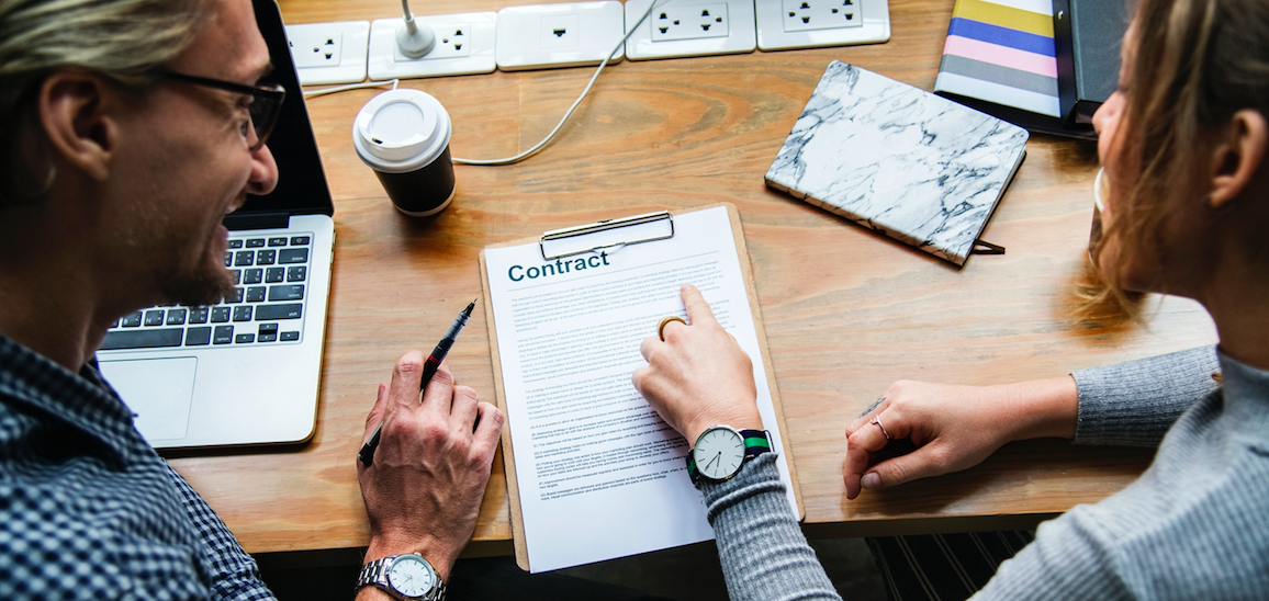 Client contract negotiations